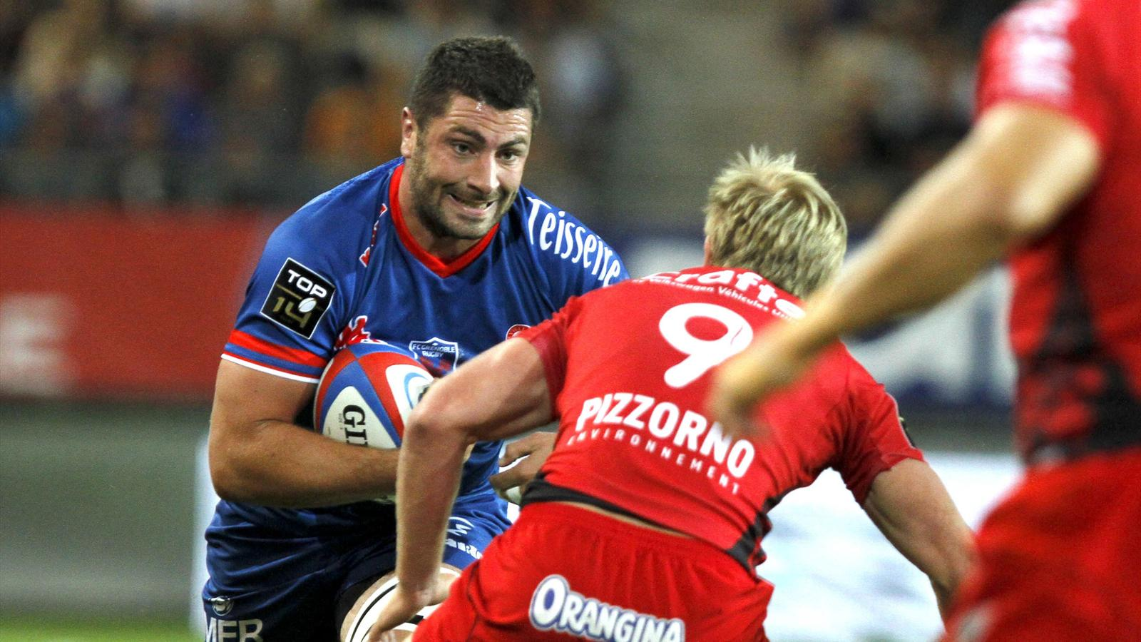 Jonathan Best against Toulon - 31 aout 2013