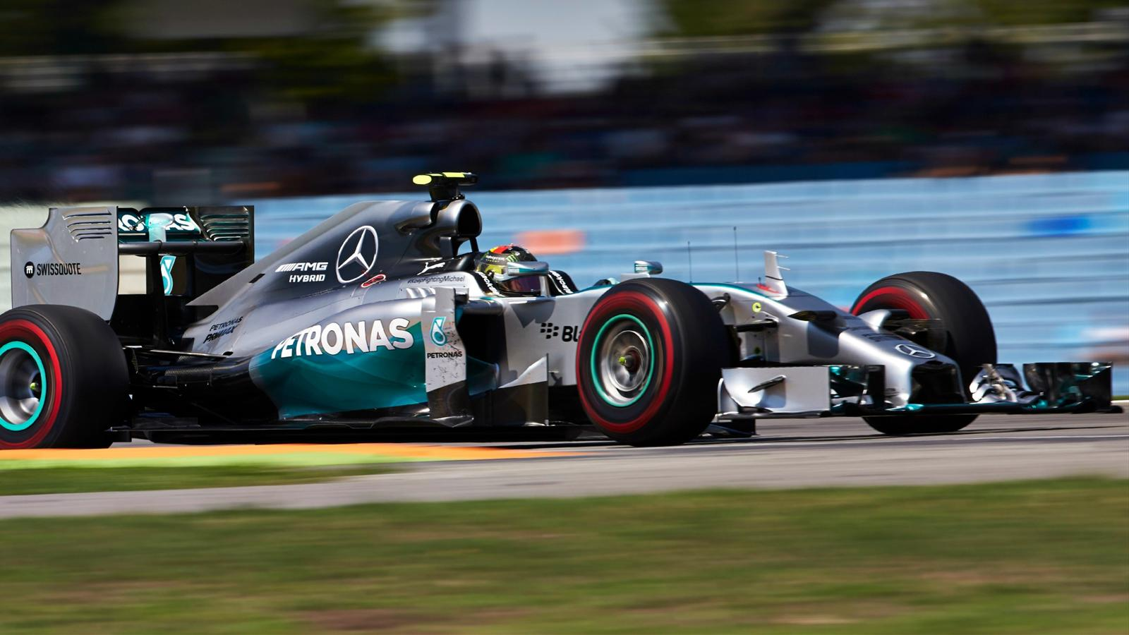 grand prix d 39 allemagne nico rosberg mercedes reprend. Black Bedroom Furniture Sets. Home Design Ideas