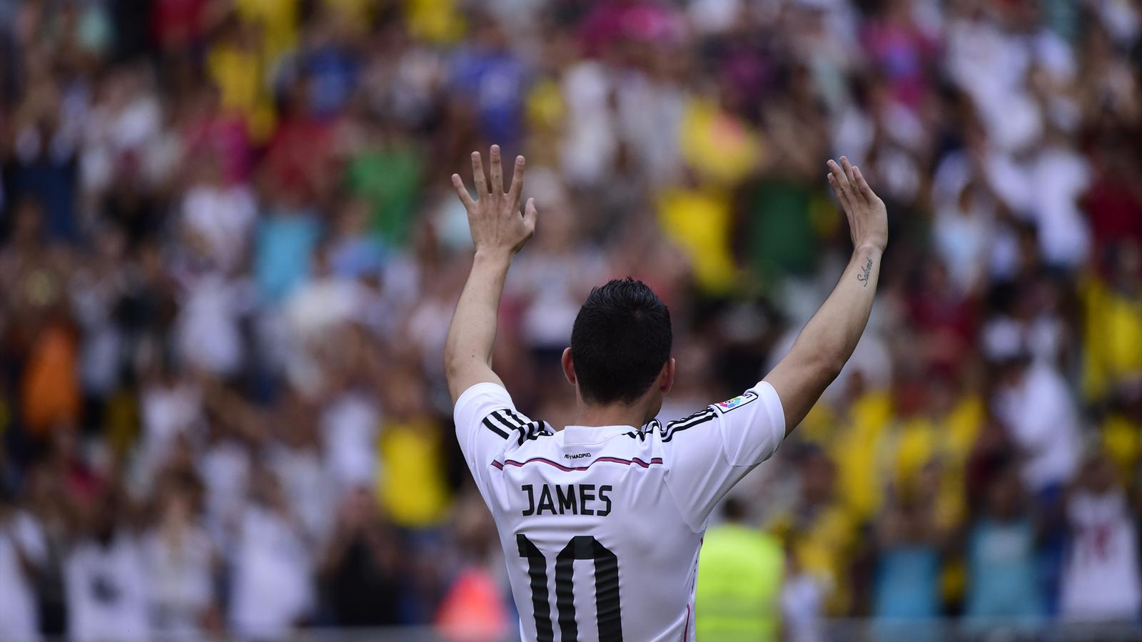 James Rodriguez présenté officiellement à Bernabeu au Real Madrid (2014)