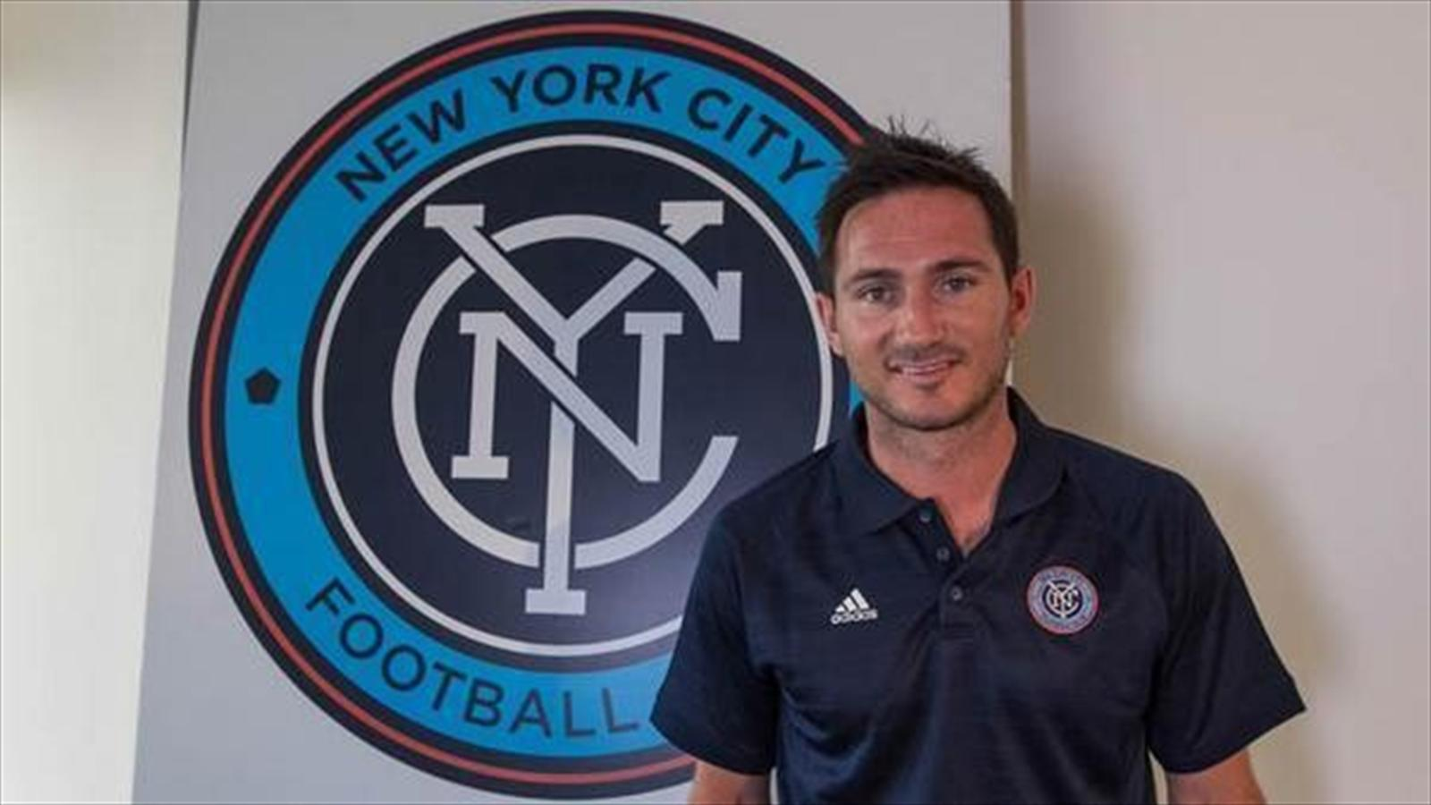 Frank Lampard unveiled at New York City FC (MLS)