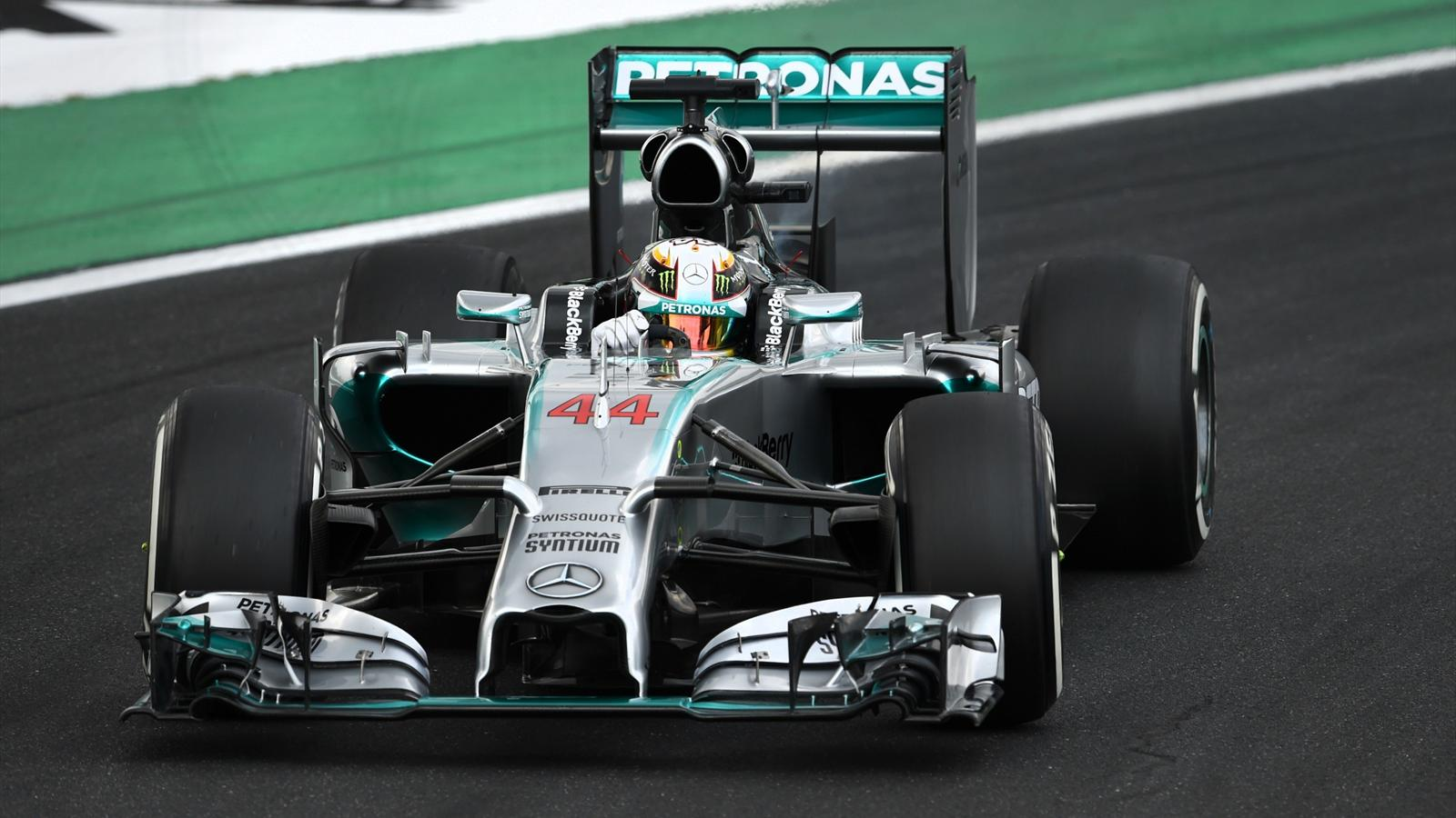 Lewis Hamilton (Mercedes) - GP of Hungary 2014