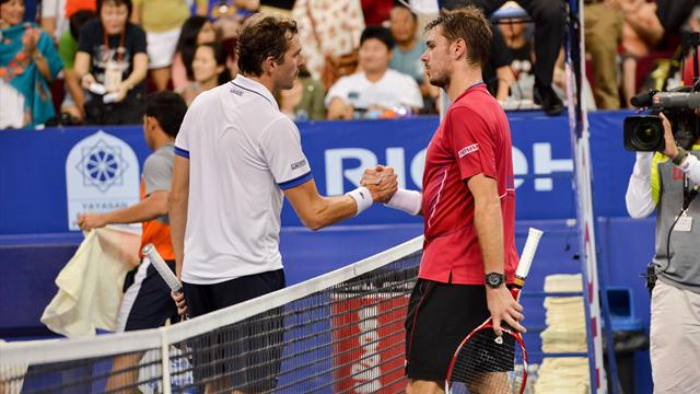 Benneteau - Wawrinka EN DIRECT