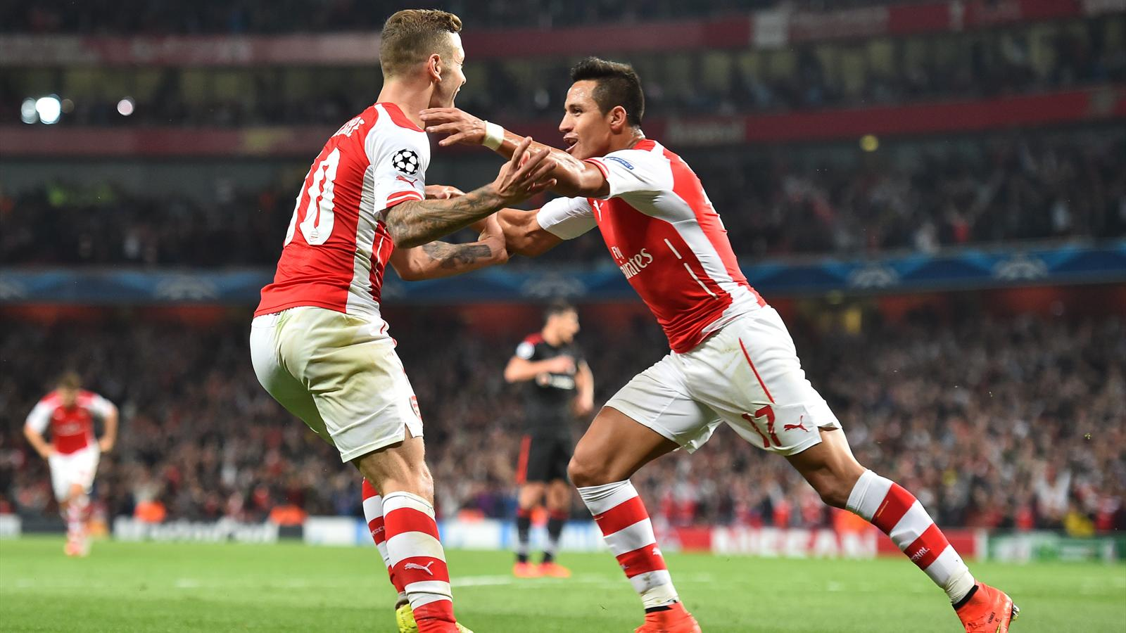 Arsenal bat Besiktas (1-0) et disputera la phase de poules de la Ligue des champions