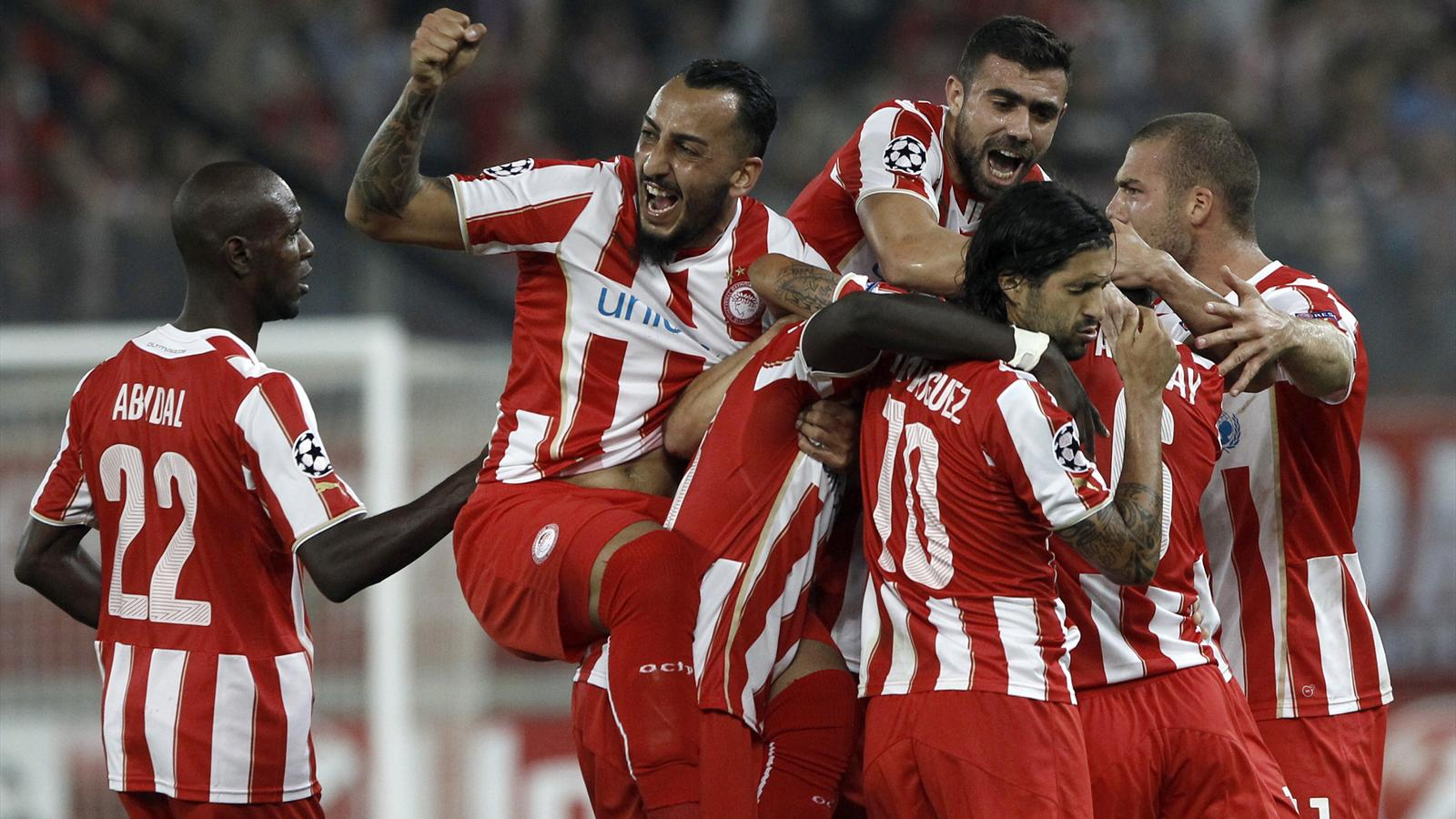 Atletico humbled by Olympiakos in Greece - Champions ...