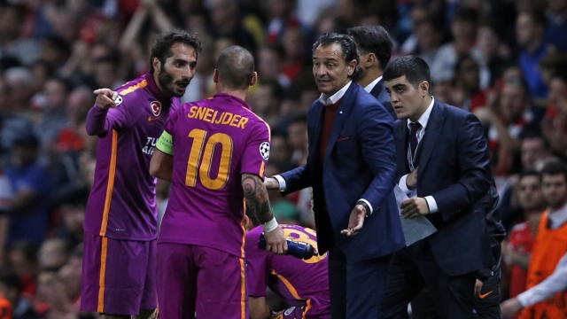 Galatasaray head coach Cesare Prandelli accepted responsibility for his side's 4-1 UEFA Champions League defeat to Arsenal on Wednesday.
