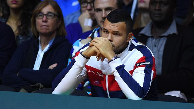 Noah, l'exhibition, la finale : Tsonga donne sa version et remet les points sur les i