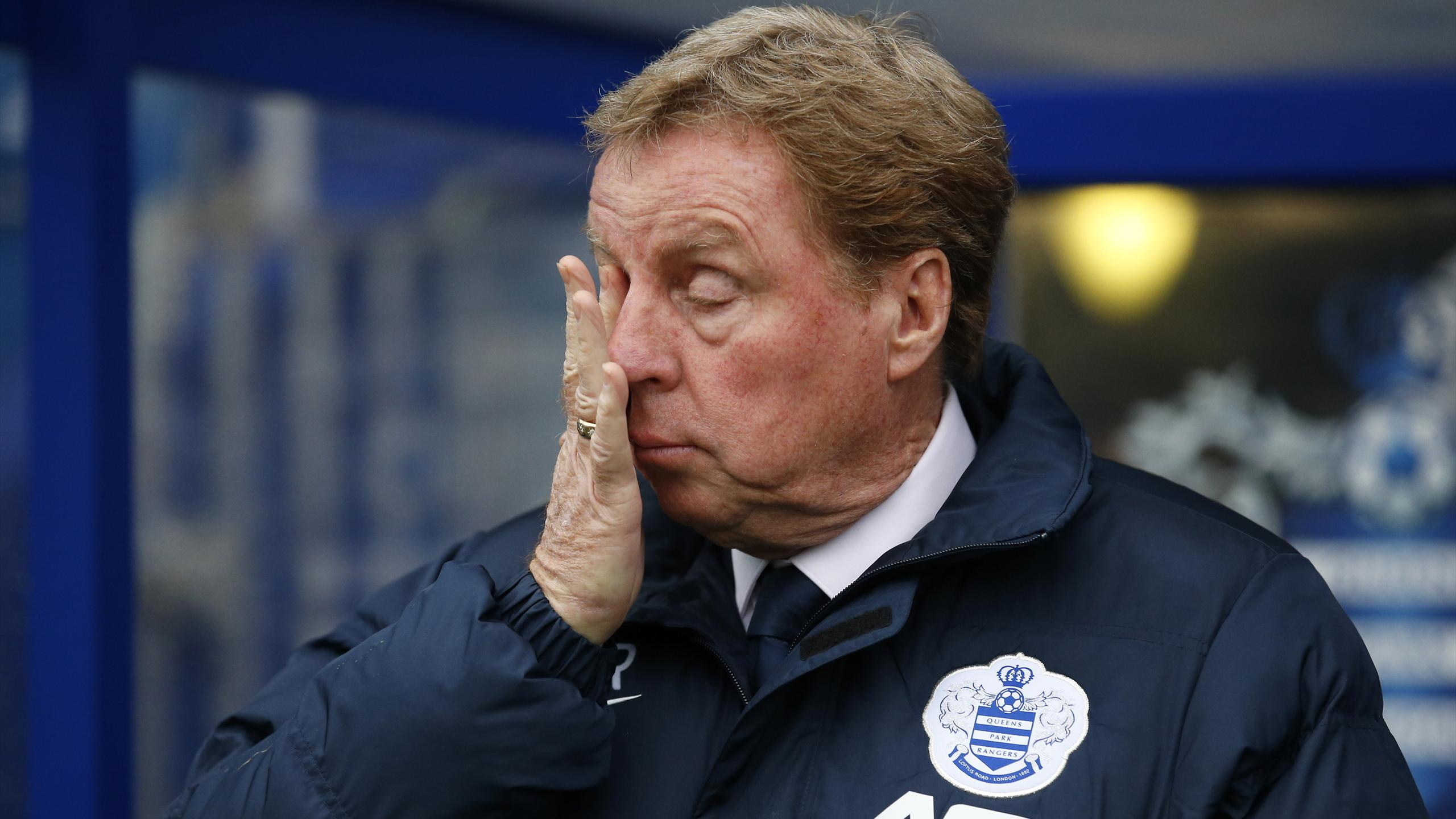 Harry Redknapp while at QPR