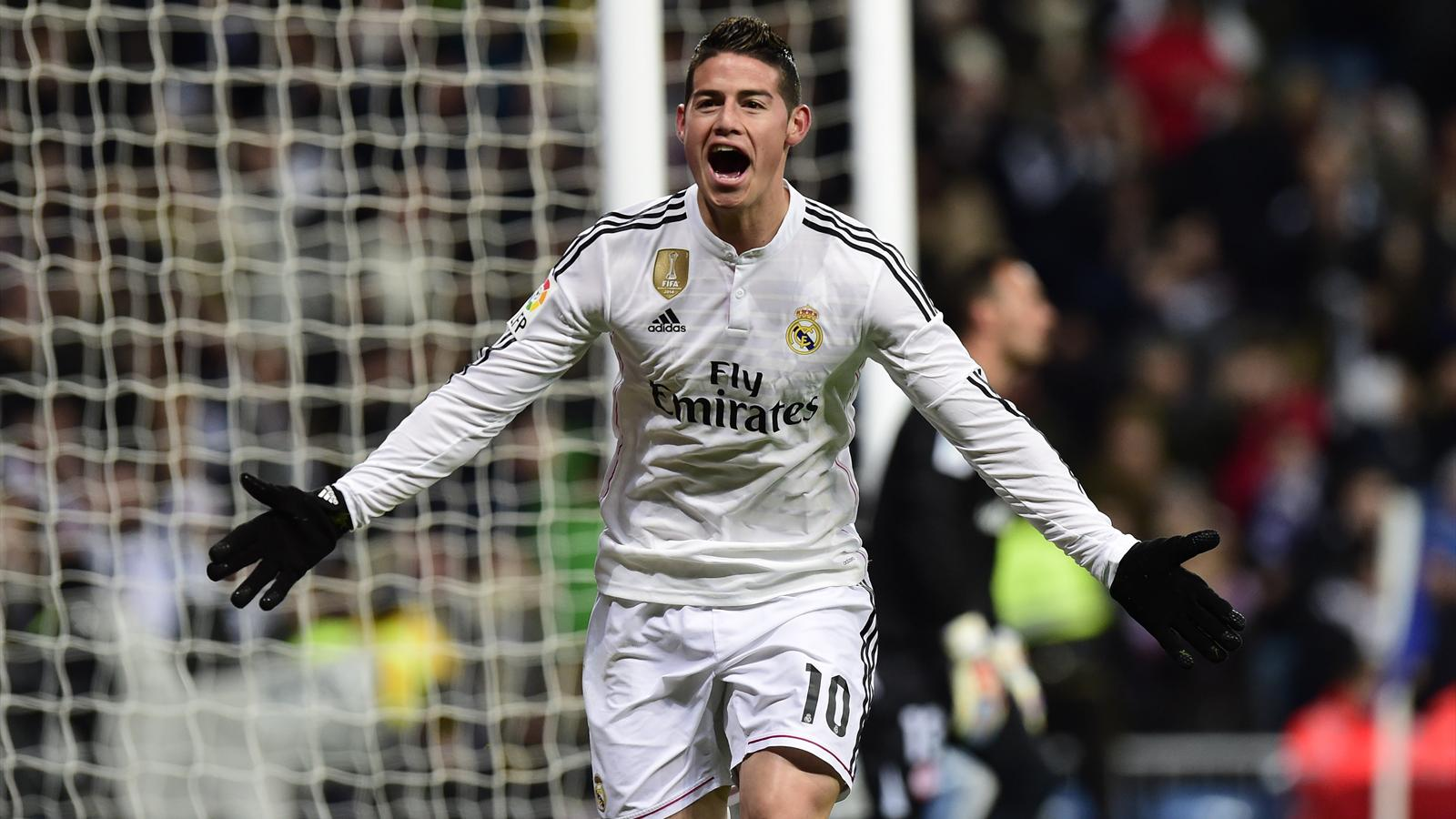 Liga - Real Madrid : James Rodriguez titulaire dimanche, Pepe attendu ...