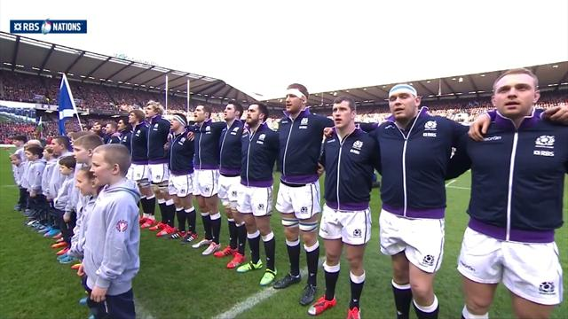 Flower of Scotland a cappella... frissons garantis