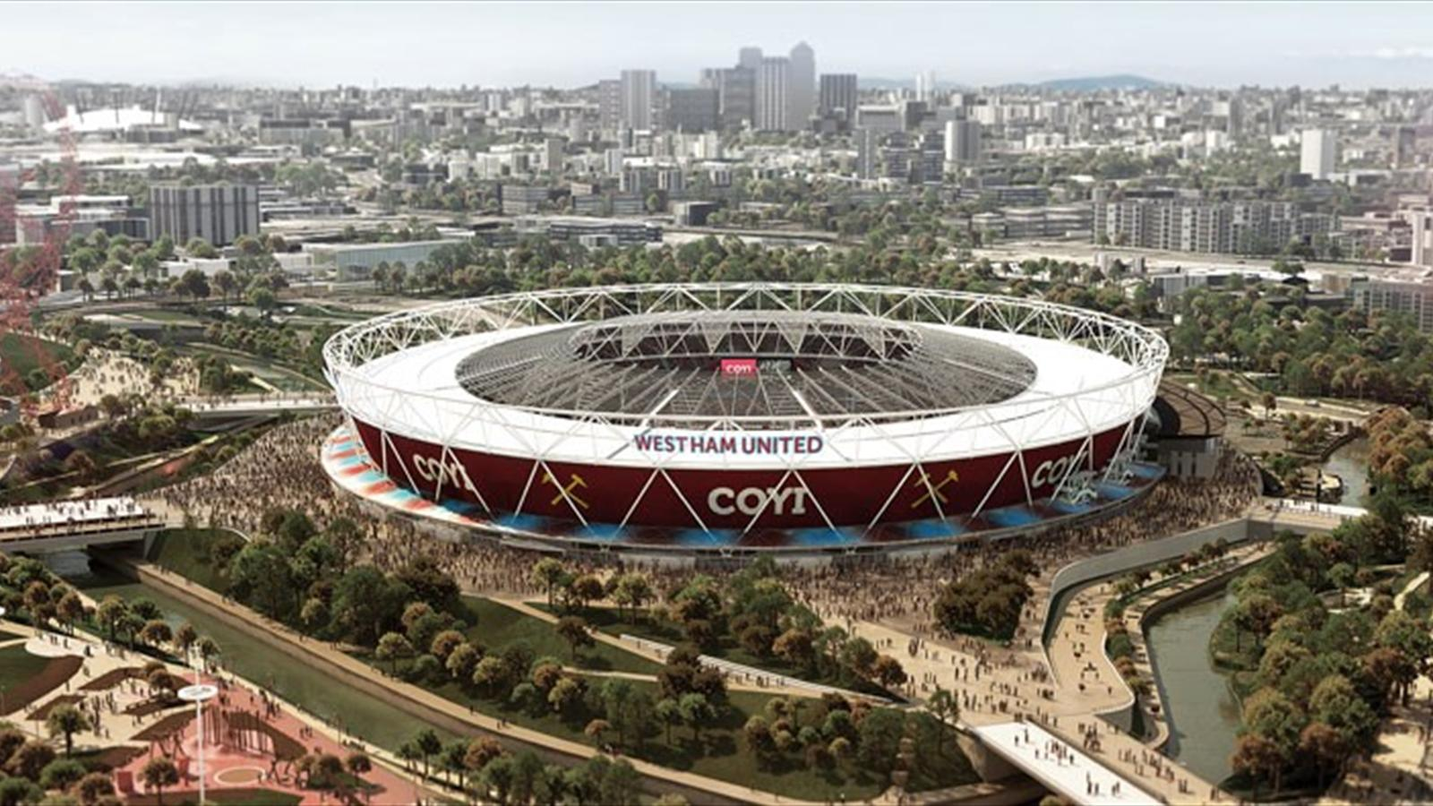 Details of west ham 39 s olympic stadium move set to be - British basketball league table ...