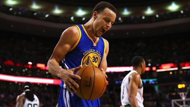 Les Warriors men�s de 26 points ? Curry s'occupe de tout