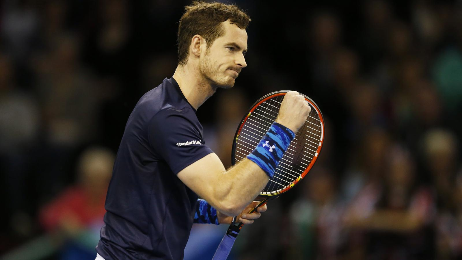 Andy Murray secures victory