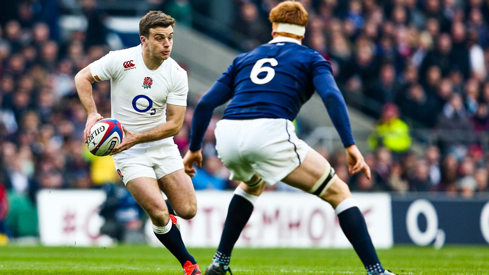 George Ford (Angleterre) face à l'Ecosse - 14 mars 2015