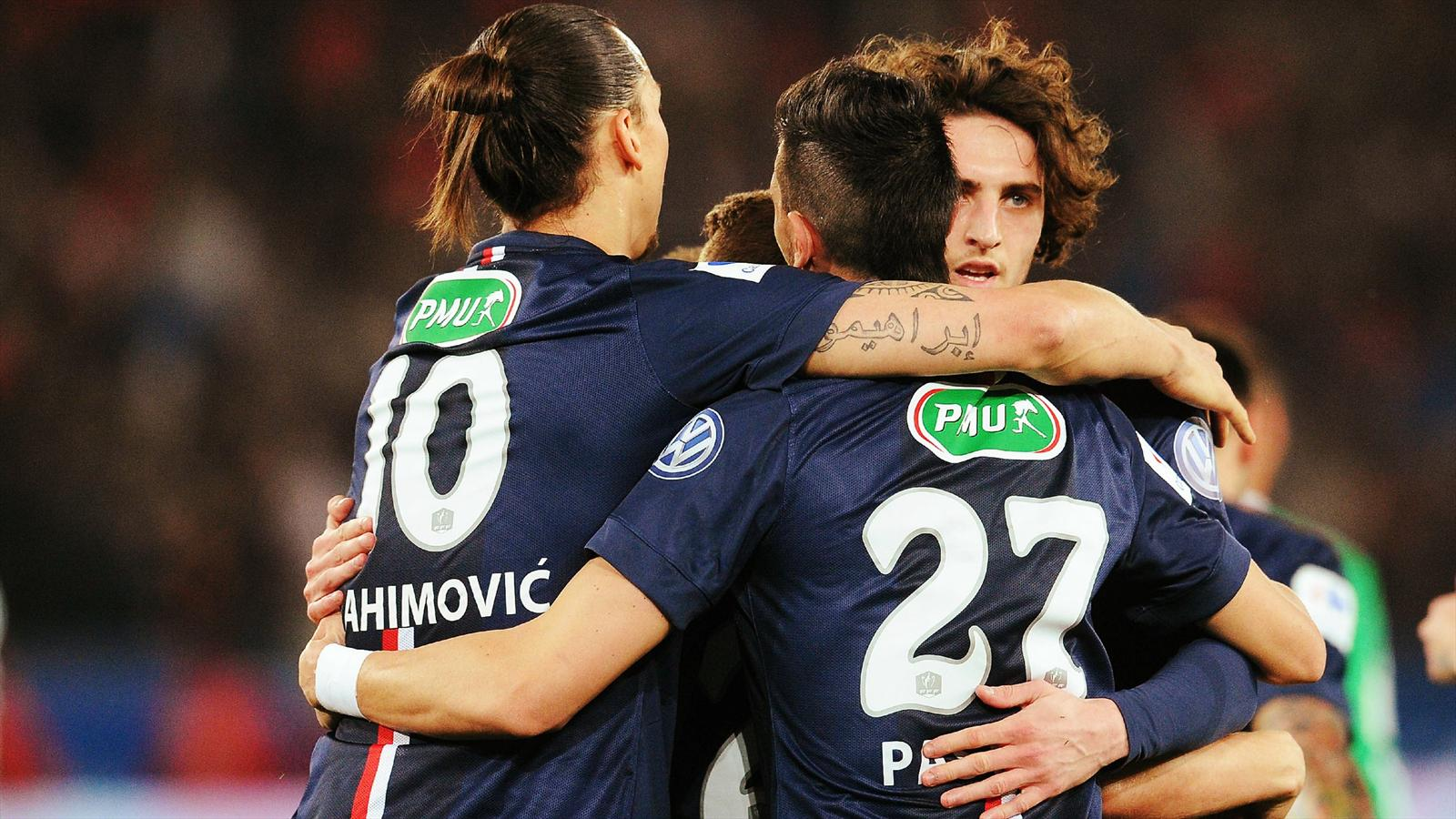 Video: PSG vs Saint-Etienne