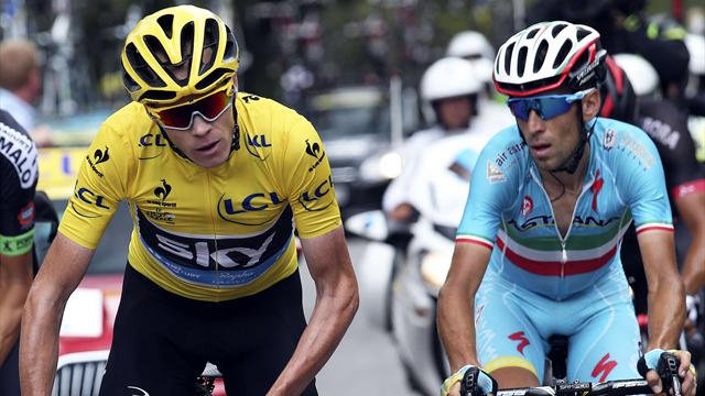 Tour de Farce: Froome and Nibali clash as 'fans' shame the Tour