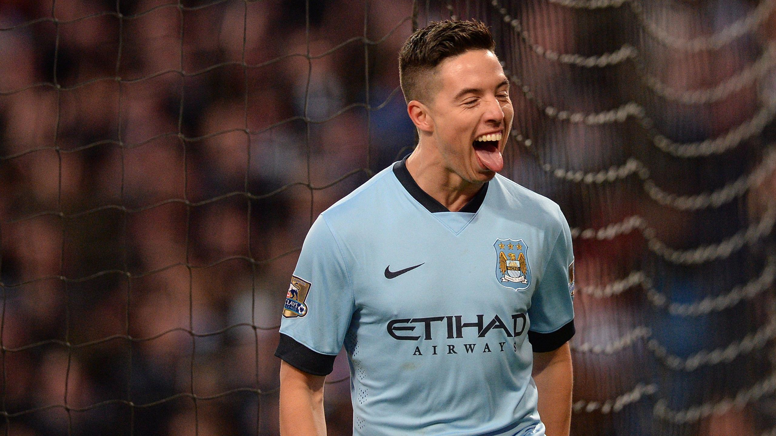 Samir Nasri of Manchester City