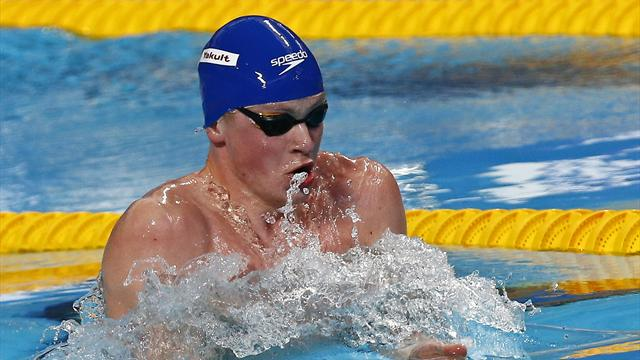 Adam Peaty breaks world record, James Guy claims shock gold