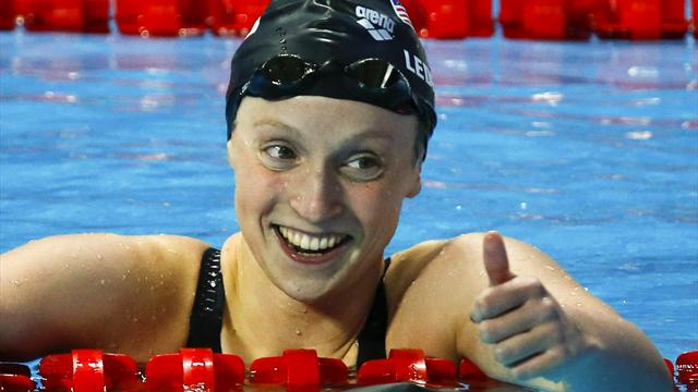 Round-up: Katie Ledecky adds third freestyle gold to tally