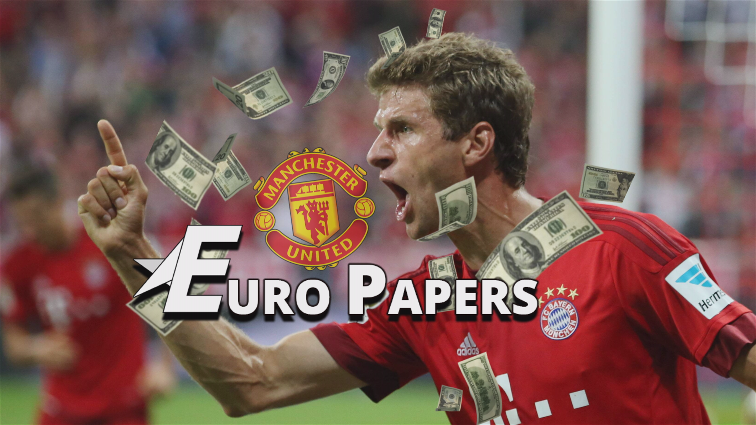 Man United miss out on Pedro - bid €85m for Muller! - Euro Papers