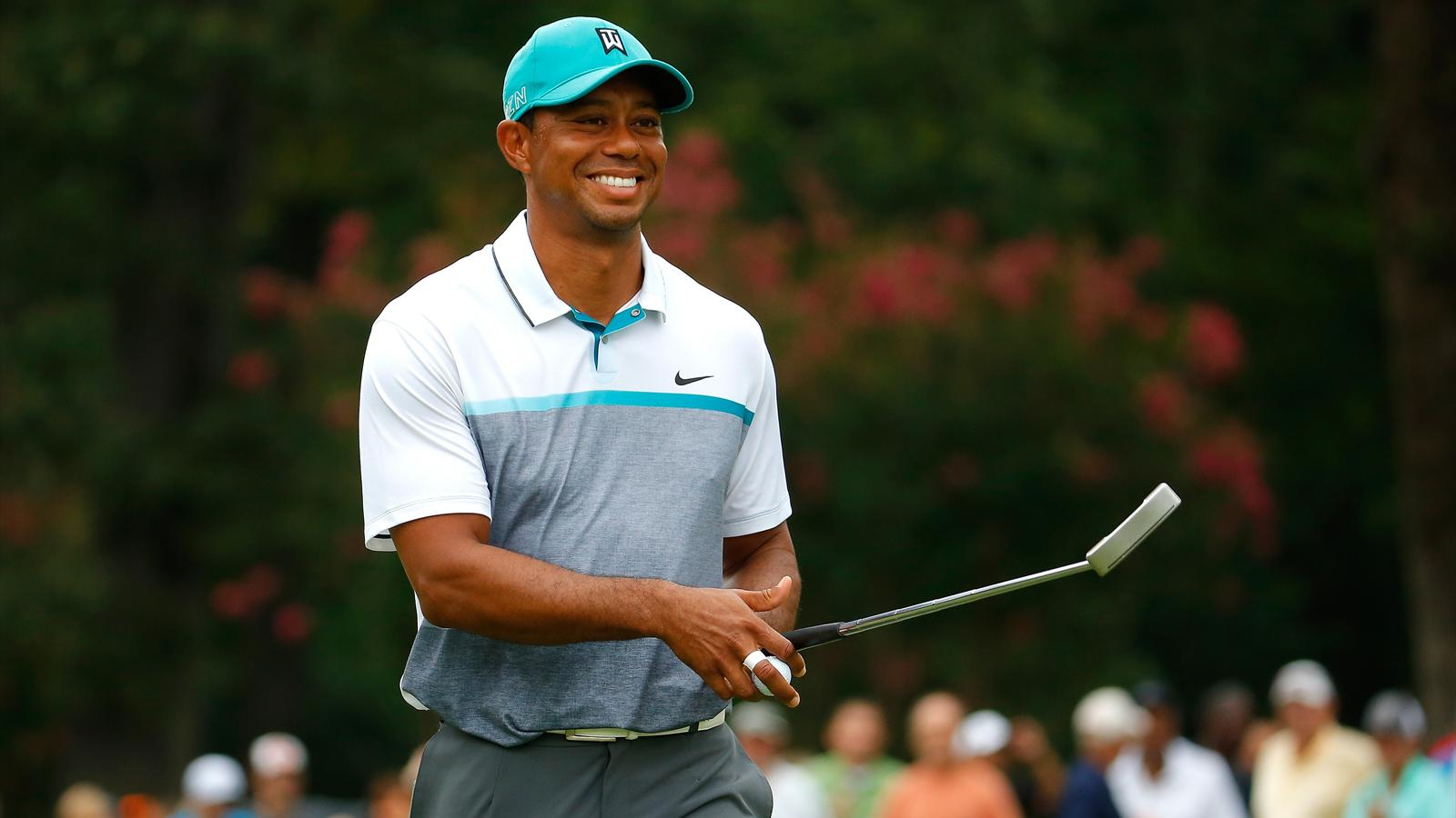 Tiger Woods has a chance of a victory.