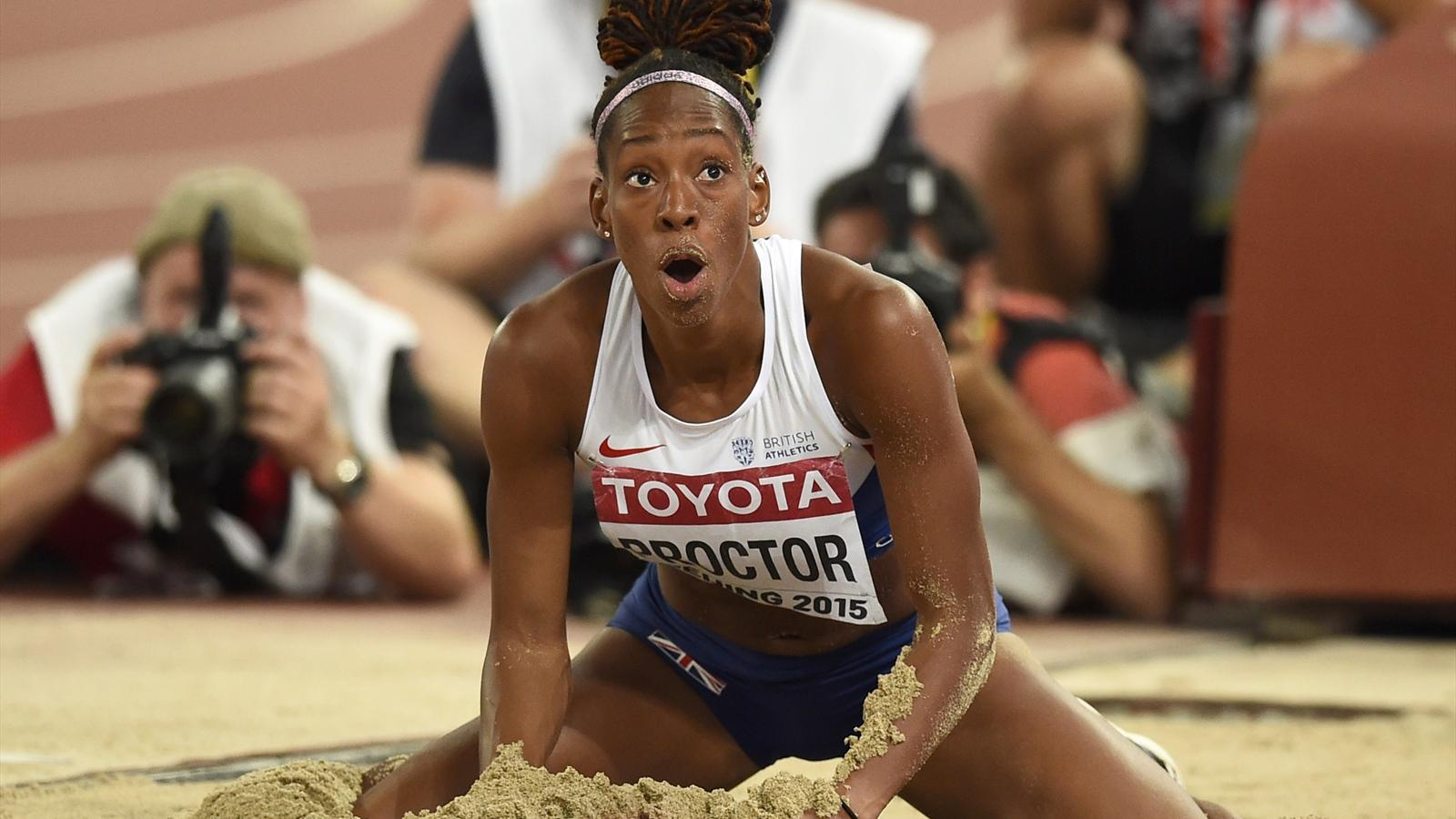 Proctor wins silver in long jump after bartoletta takes - British basketball league table ...
