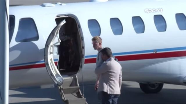 Kevin de Bruyne heads for England