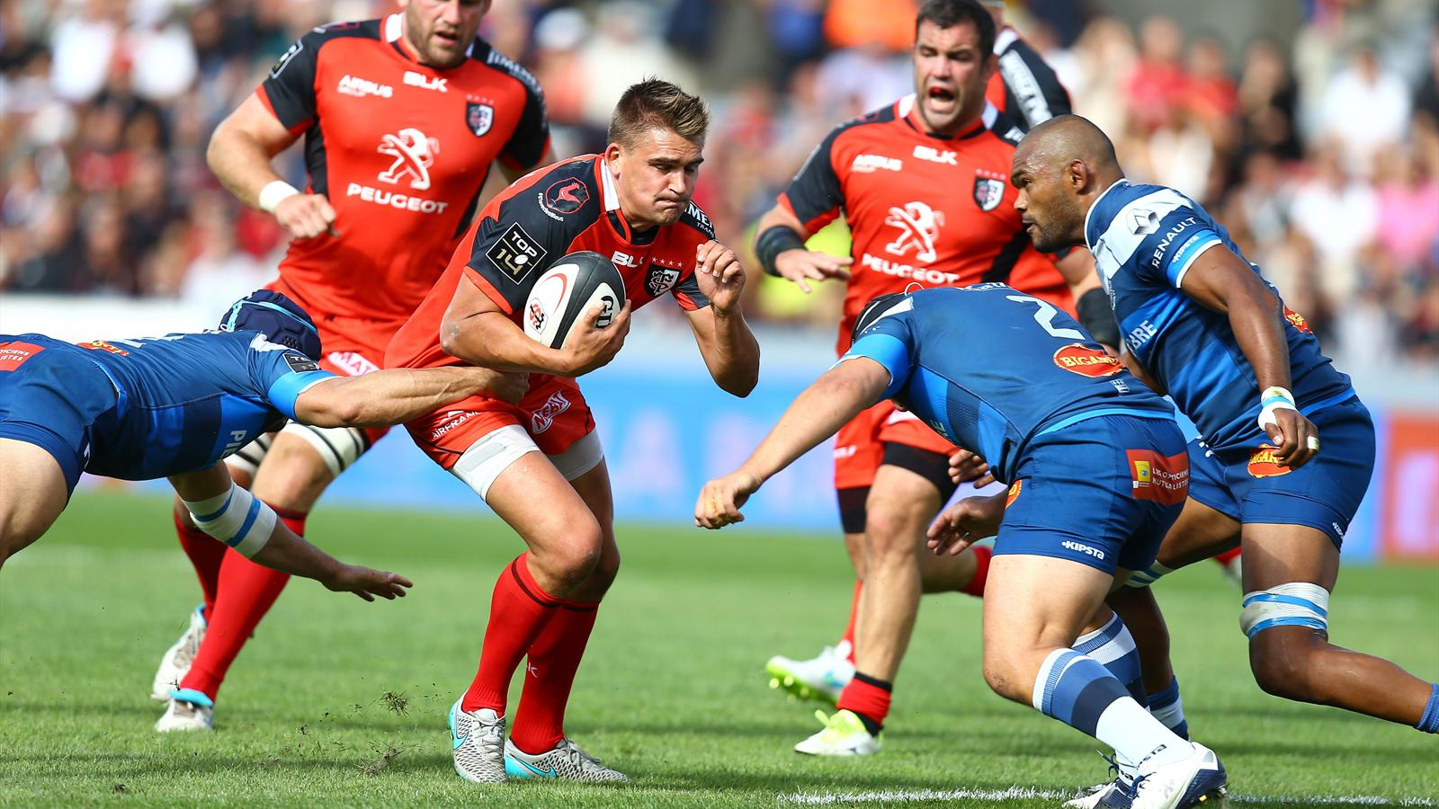 Toby Flood (Toulouse) face à Castres - 5 septembre 2015