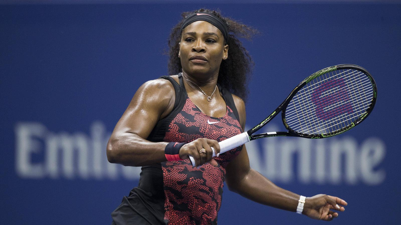 Serena Williams stapelt im Halbfinale der US Open tief