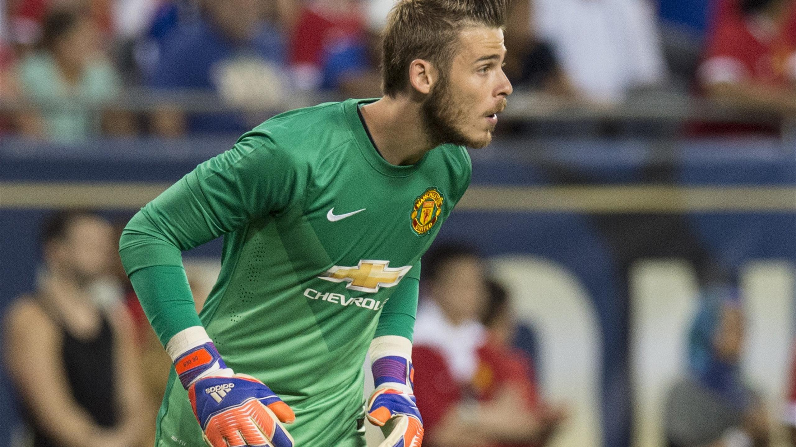 David De Gea lors de PSG-Manchester United (International Campions Cup)