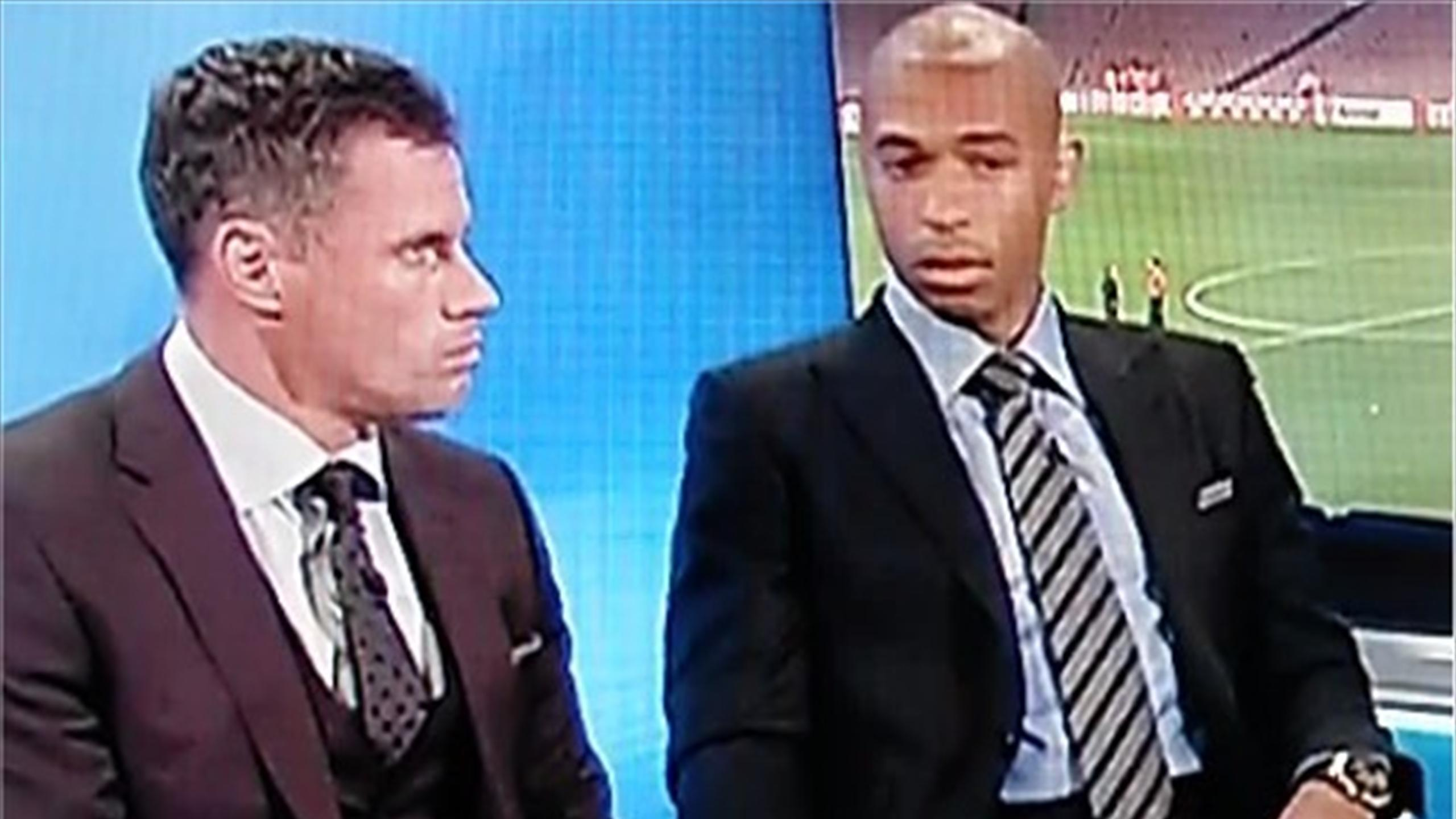 Thierry Henry's reaction to the sacking of Brendan Rodgers