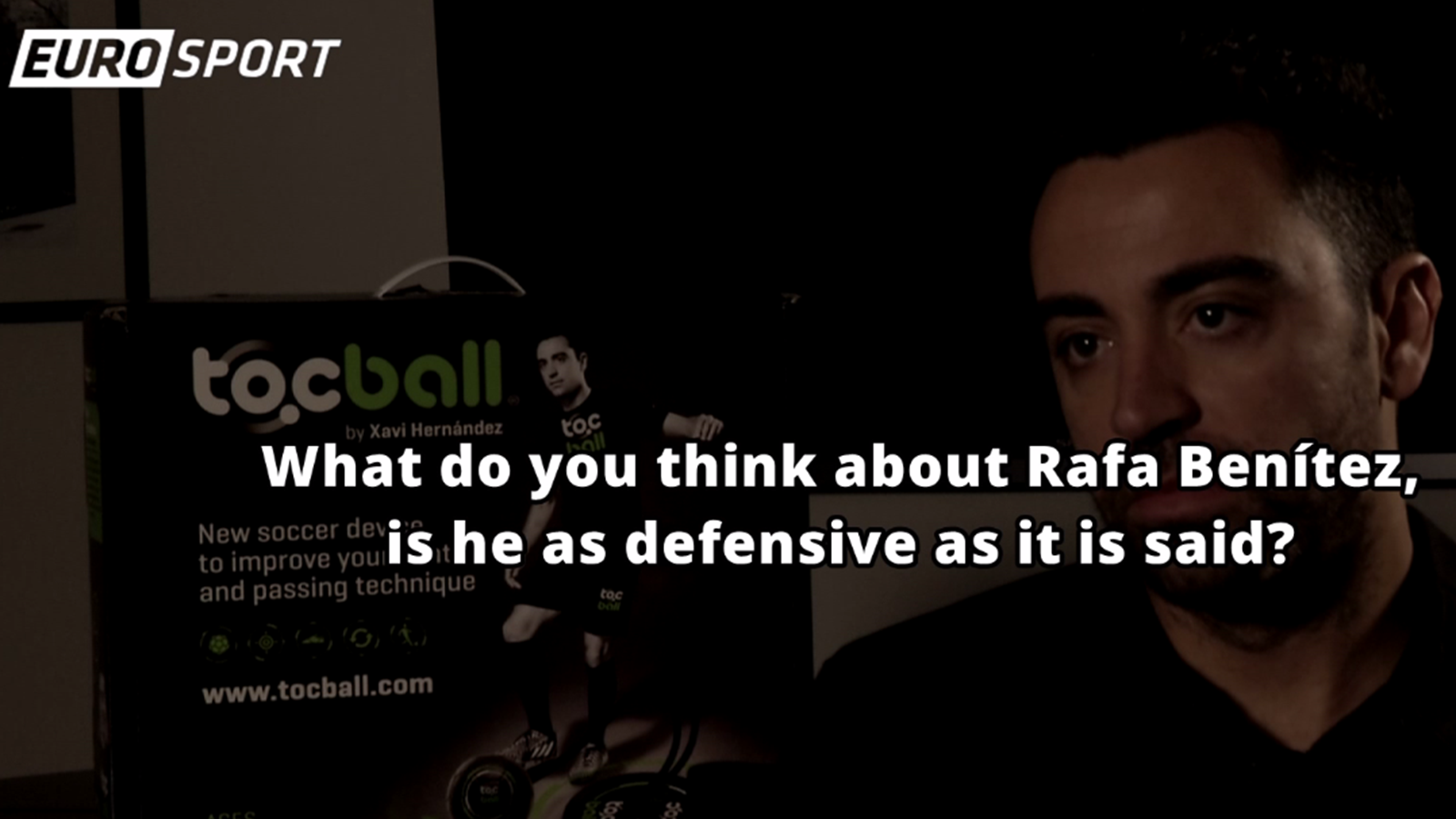 XAVI ON BENITEZ