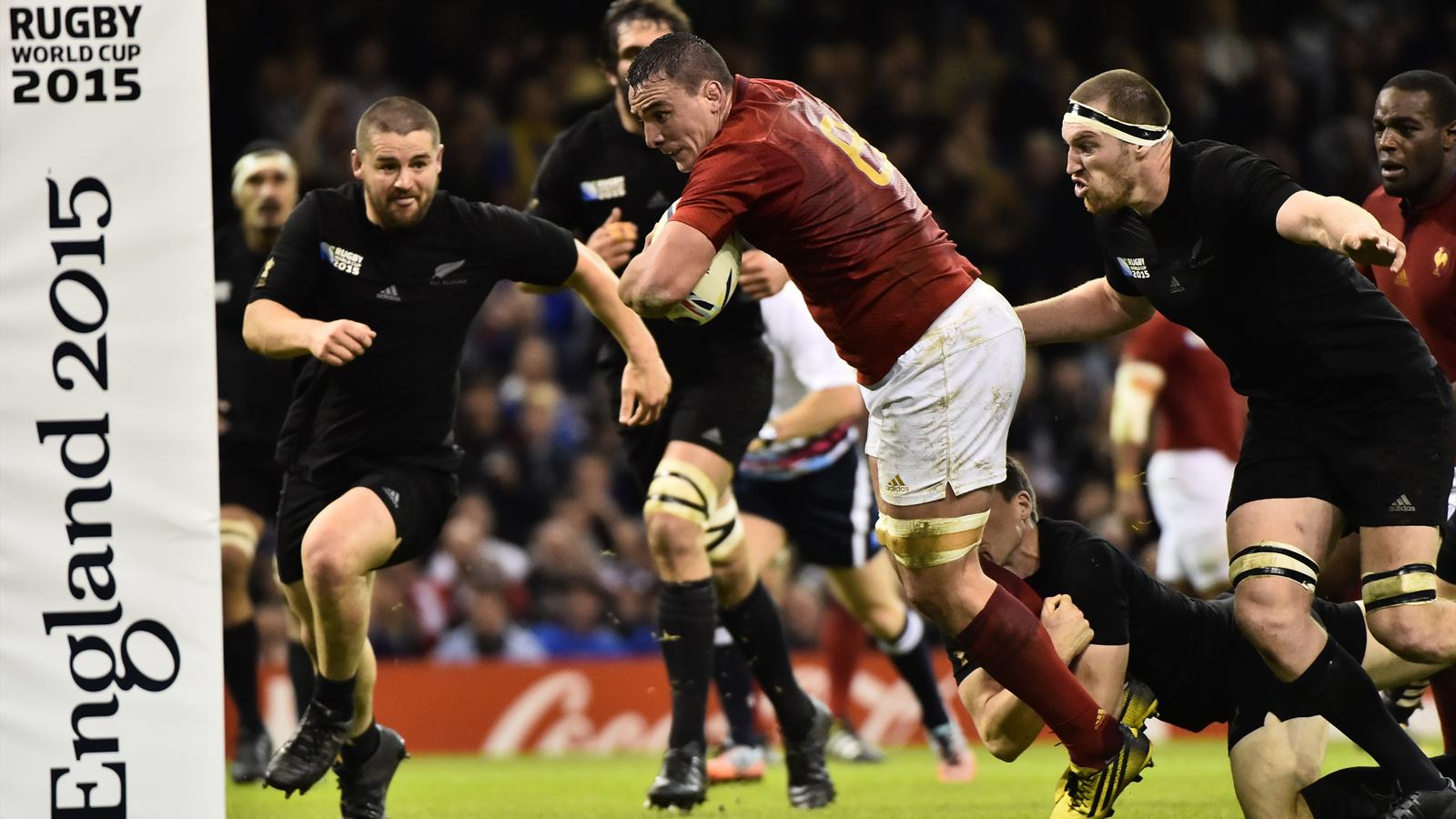 Louis Picamoles (XV de France) face aux All Blacks - 17 octobre 2015