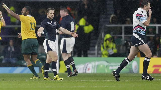 Joubert named assistant referee for Scotland's clash with Ireland