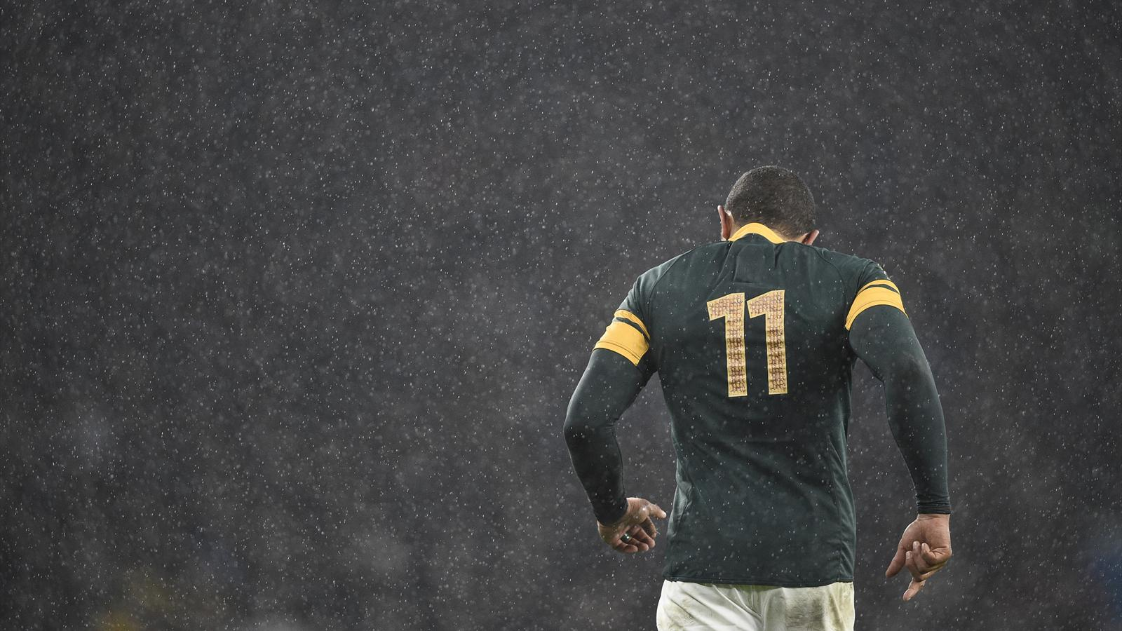 Bryan Habana of South Africa - South Africa v New Zealand - 24 October 2015