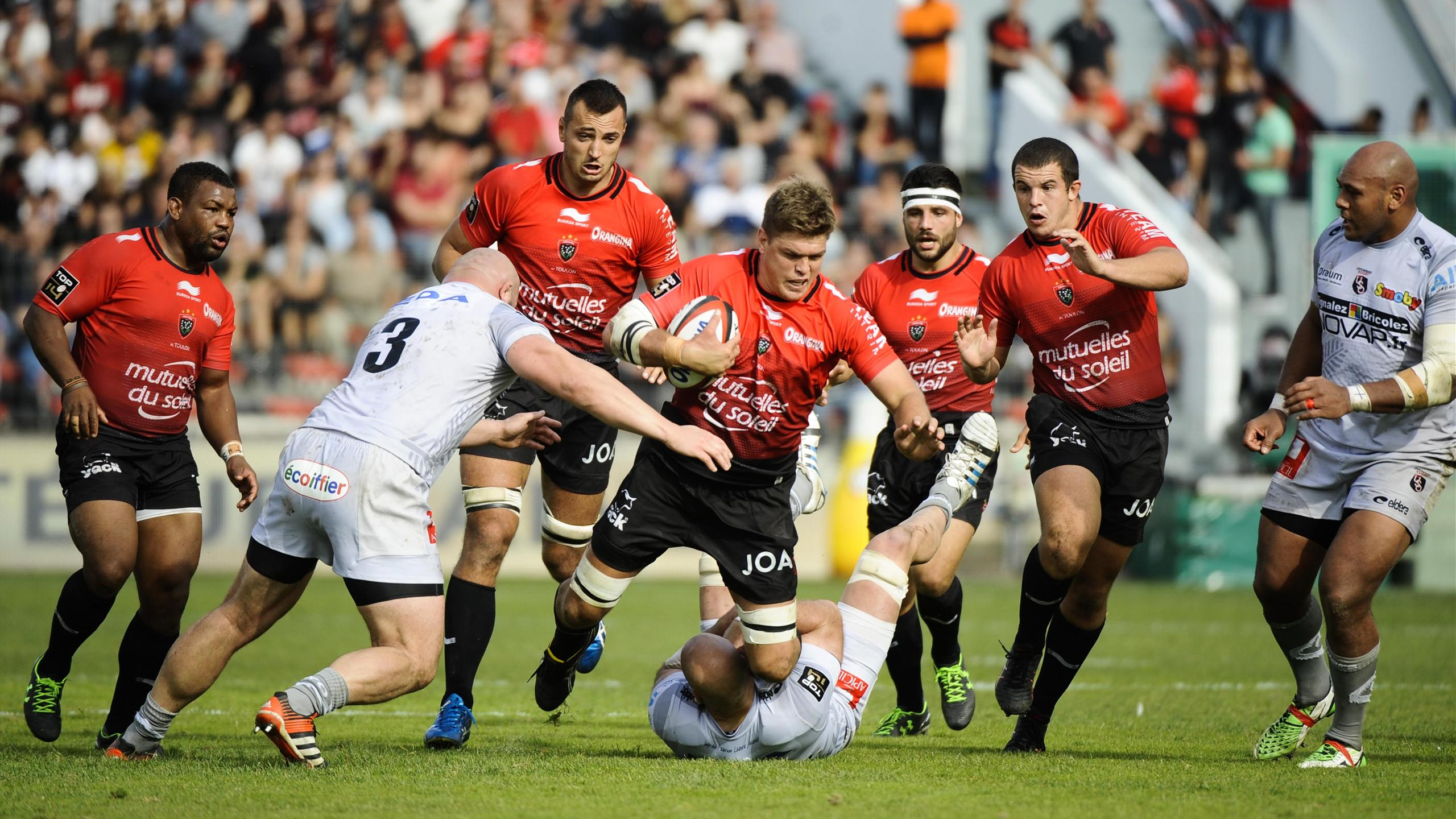Juan Smith (Toulon) face à Oyonnax - 24 octobre 2015