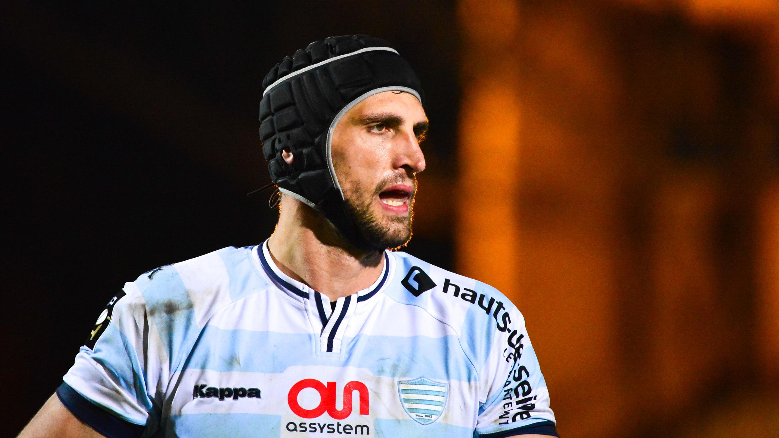 Luke Charteris (Racing) - 23 octobre 2015