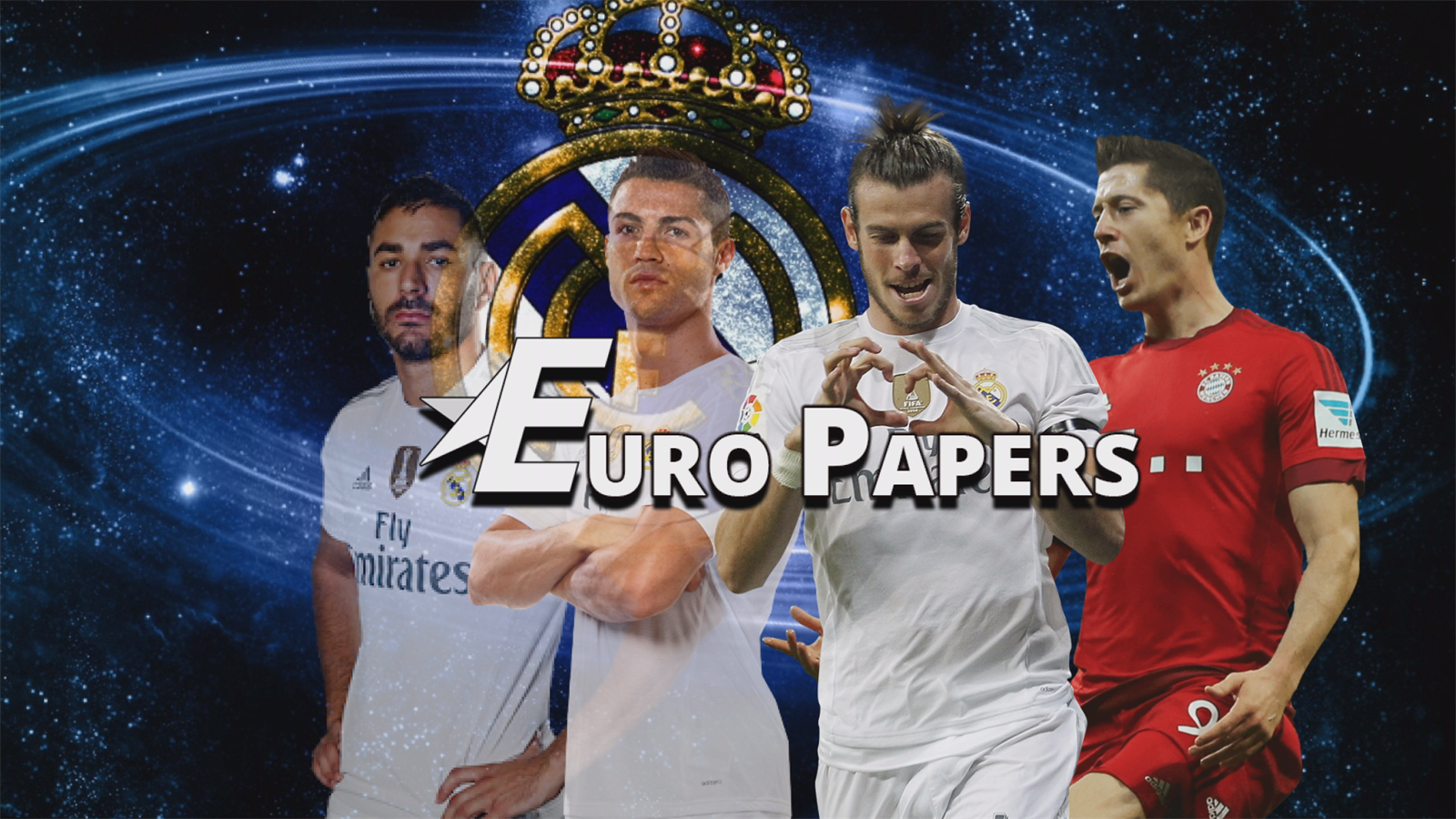 Bye-bye Benzema & Real replace Ronaldo - Euro Papers