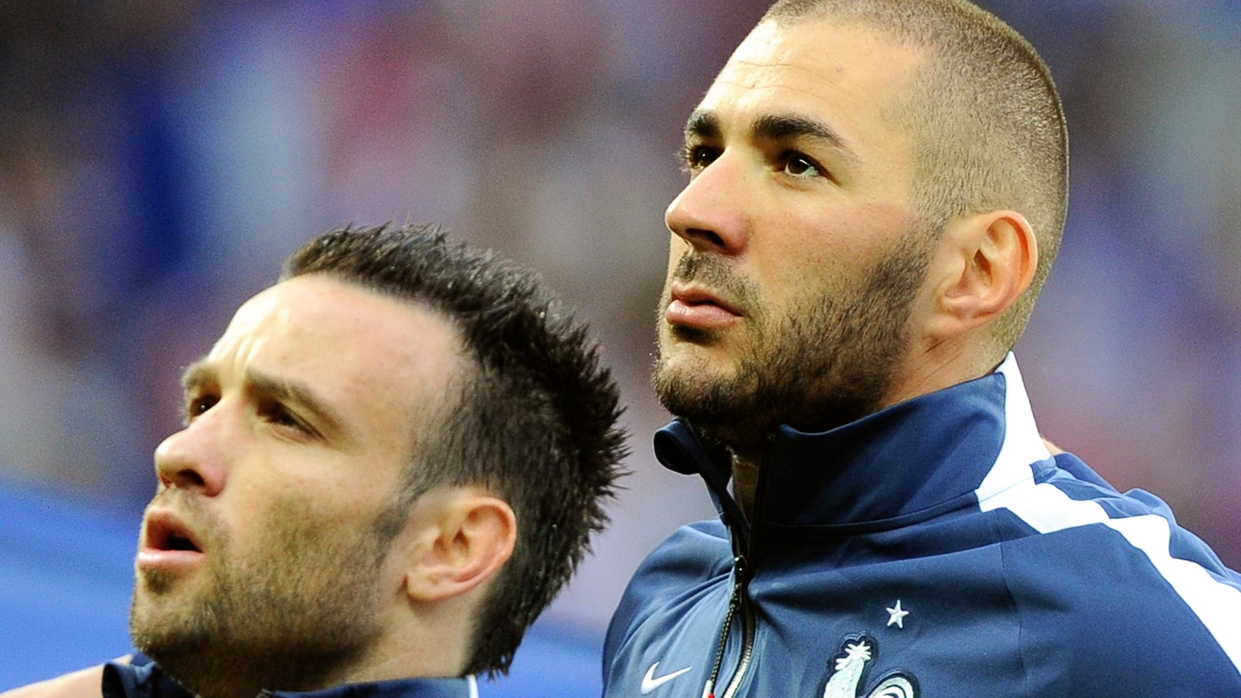 Benzema and Valbuena