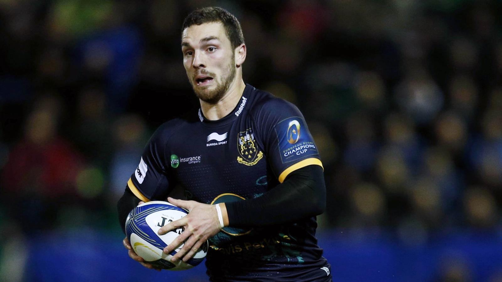 George North (Northampton) - novembre 2015