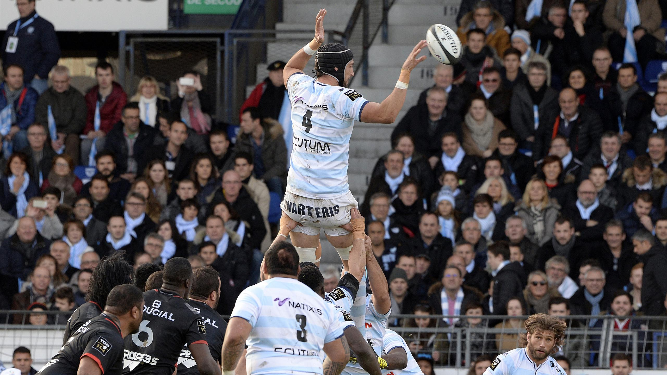 Luke Charteris (Racing 92) - 28 novembre 2015