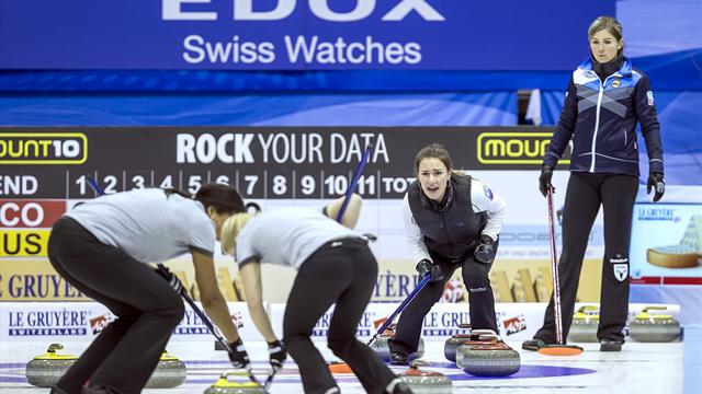 Scotland women settle for Euro curling silver