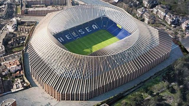 Chelsea's new 60000-seater stadium looks brilliant