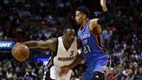 Dwyane Wade carries Miami Heat past Oklahoma City Thunder in topsy-turvy game