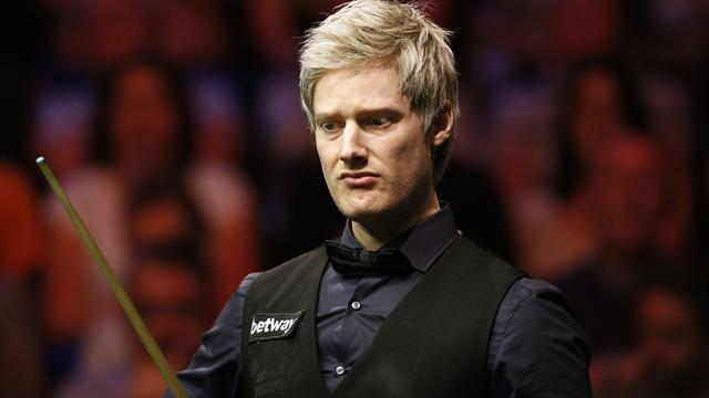 O'Sullivan and Robertson lose in Welsh Open second round