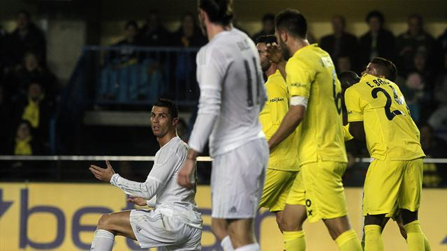 Battu par un Villarreal enthousiasmant, le Real laisse filer le Barça et l'Atlético