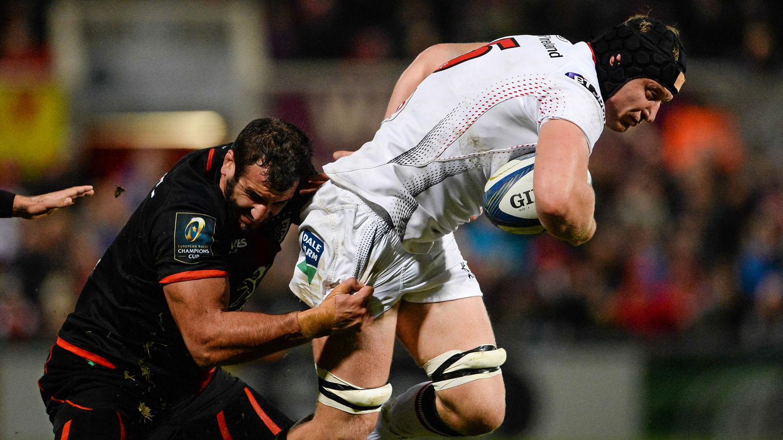 Maestri (Toulouse) face à Van der Merwe (Ulster)