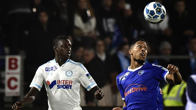 Coupe de la ligue l 39 om se qualifie bourg en bresse 2 3 coupe de la ligue 2015 2016 - Billet coupe de la ligue 2015 ...