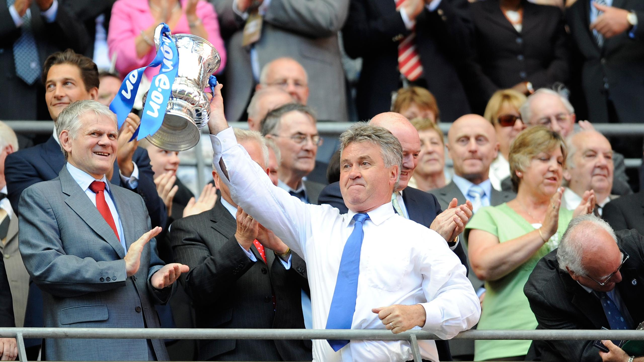 Guus Hiddink, FA Cup