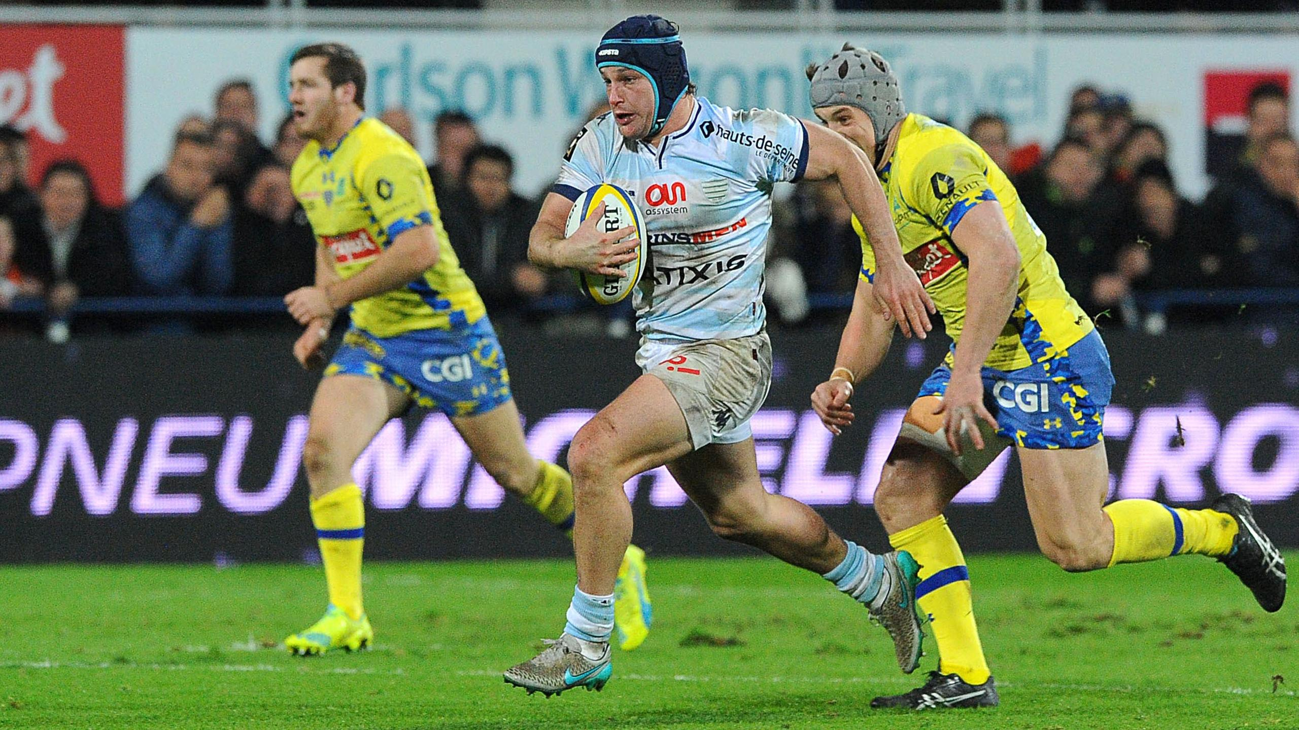 Henry Chavancy (Racing 92) face à Clermont - 27 décembre 2015