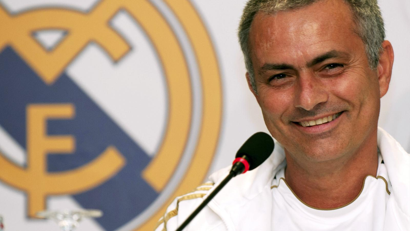 Jose Mourinho during his time as Real Madrid manager